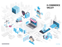 E-Commerce Valley infographic