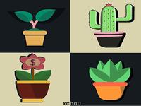 Plants Flat Icon