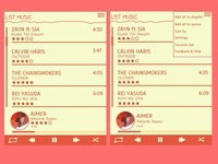 Red Pencil Music Player Design Part II