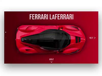 Supercar Showcase experience gradient motion animation showcase minimal motion graphics motion supercar mclaren ferrari bugatti