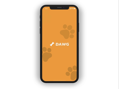 Dog Shelter App madewithstudio orange adopt shelter animal dog showcase app animation ux design ui motion flat minimal