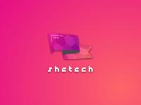 SheTech Logo Branding