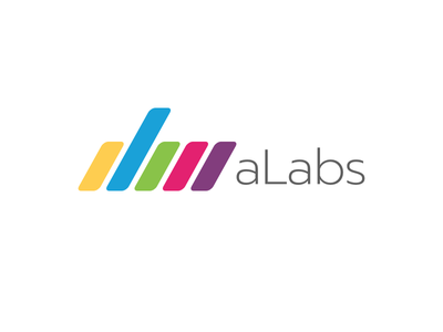 Brand design for aLabs brand italy design web technology