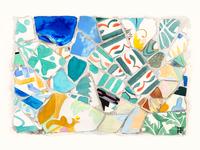 Kitchen Art Barcelona Gaudi Broken Tiles