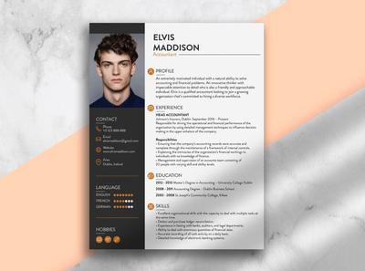 Resume Design cv design curriculum vitae resume design resume cv resume