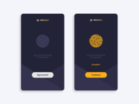 Layout step - Agreement with touch ID - Daily UI challenge