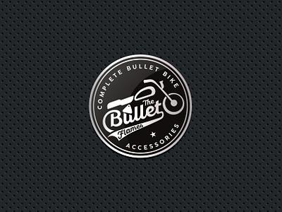 The Bullet Flames branding design logo design motion monogram creative design logo designer brand agency brand identity bikers motorsports symbol logo wheel vintage royal enfield motorcycle motorbike motor bike