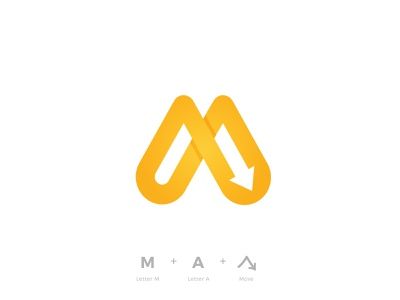 Moving All Logo Design logo design a letter m designer buy sale monogram icon mark symbol vick ben brandmark colorful geometric branding logo designer design logo move