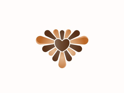 Chocolate Logo Design buy sale vick ben logo designer logo design logo branding passion chocolate bar valentine choco candy flow sprout grow happiness sweet heart love chocolate