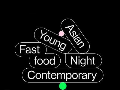 That ramen place Logo food asian restaurant japanese ramen icon identity brand vector typography illustration design logotype animation logo branding