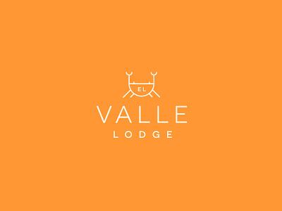 Lodge Branding III logotype identity crab clean hotel brand type typography illustration branding design logo