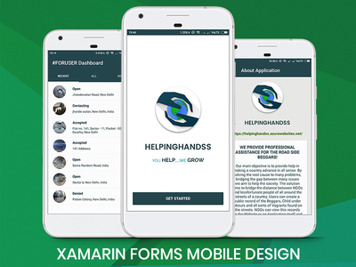 Xamarinforms Designs Themes Templates And Downloadable Graphic Elements On Dribbble