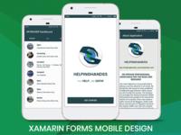 HelpingHandss: Xamarin.Forms Application Design