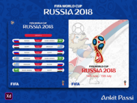 FIFA World Cup 2018 - UWP Application