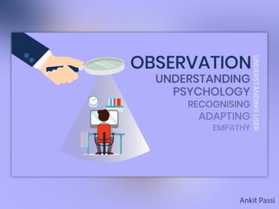 UX Principle: Observation
