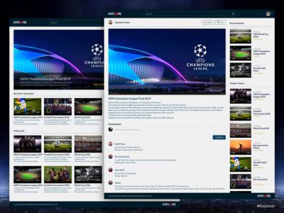 ExploreMore: Video Aggregator