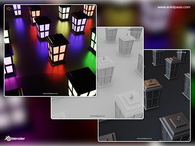 The Lamp - Blender 2.8 Cycles visual art visual model animate cycles cycles render cyclesrender 3dsmax 3d artist 3d animation 3d art blender3dart blender 3d blender3d rendered renders render blender 3d design
