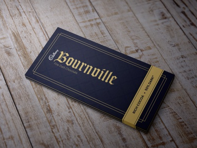 Redesign the Wrapper of Bournville - Royal, Minimal vector graphicdesign graphic minimalist royal minimal adobe photoshop adobe illustrator adobe wrapper cadbury branding and identity branding concept branding chocolates chocolate packaging chocolate chip chocolate bar chocolate branding design