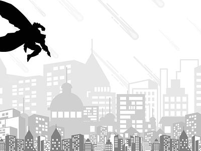 The Dark Knight Wallpaper - Light light design light graphic design graphicdesign graphics graphic adobe ui adobe illustrator typography adobe xd mockup illustration design photoshop batman wallpaper design wallpapers wallpaper