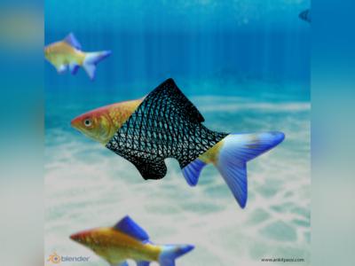 Fish Simulation in Blender Eevee