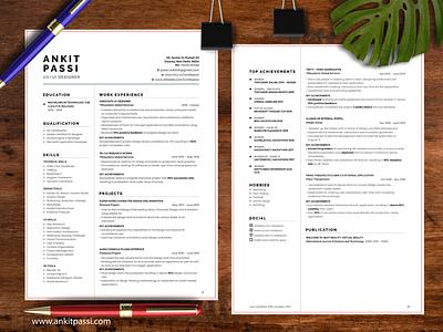 Resume Design Challenge graphic challenge uplabs challenge resume challenge graphic design illustrator photoshop indesign print media print graphic resume resume design