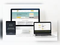 Yellow.Live Website Design ui designs ui design uiux branding adobe illustrator typography ui ux adobe xd mockup illustration adobe design