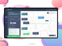 Adobe XD: Meeting Scheduling Web Client
