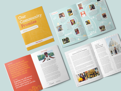 2017 Way to Grow Annual Report layout print design print