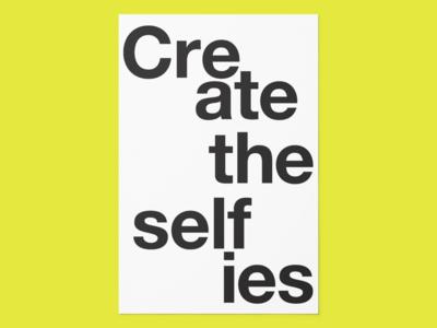 Create the Selfies