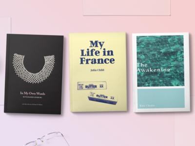 Feminist Bookcase: set 2/2