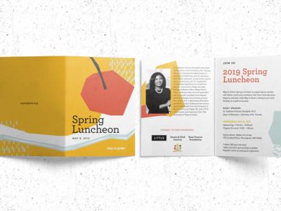 Spring Luncheon Invite