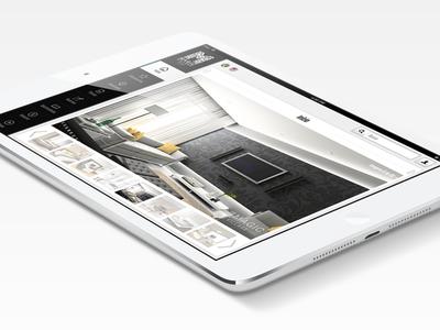 Magic Village Resort -  Web App magic village resort web app ipad mobile ux design slick modern