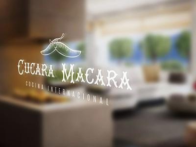Cucara Macara Decals mockup illustration logo brand decal