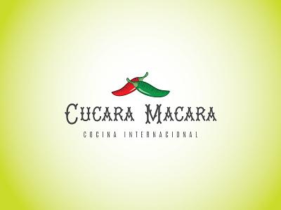 Cucara Macara mexican restaurant mexican food mexican mexico identity minimal lettering type branding vector typography ui design logo illustration
