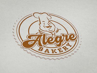 Alegre Bakery instagram banner facebook banner logo design mexican logo graphic  design illustrator illustration bakery logo bakery chicago