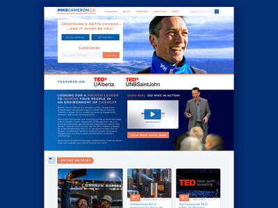 Mike Cameron Website