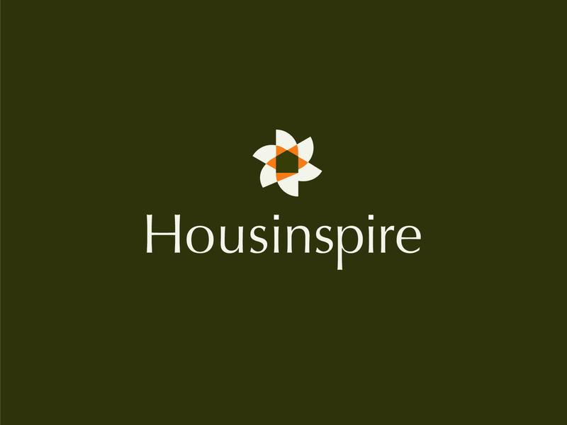 Housinspire | Brand house home brand identity branding logo