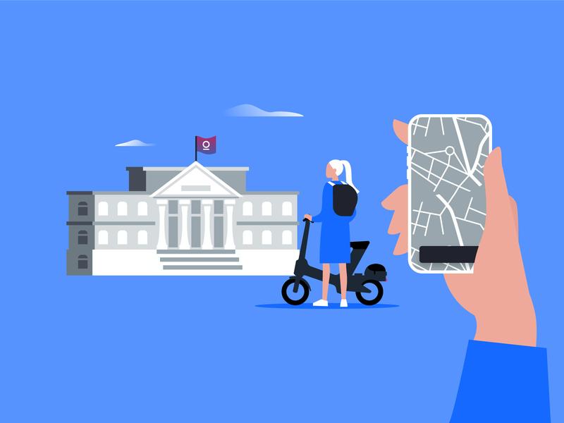 Wheels Universities | Illustration