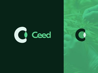 Ceed Labs | Branding science icon typography people brand identity branding logo