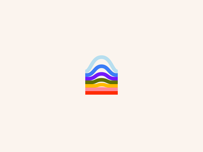 Waverly | Brand wave colorful typography web people brand identity branding logo