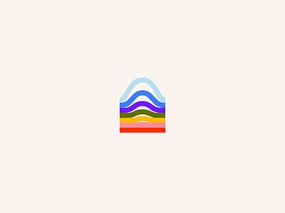 Waverly | Brand wave colorful typography web people brand identity branding logo
