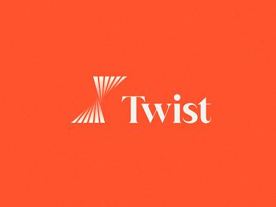 Twist | Brand agency designers contractor freelance modern simple twist typography people brand identity branding logo