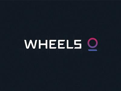 Wheels   Brand transportation micromobility bike scooter brand identity branding logo