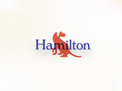 Hamilton | Brand Throwback fancy canine trunk car dog typography people brand identity branding logo