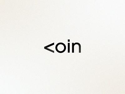 <oin | Brand finance money bank cryptocurrency people brand identity branding logo