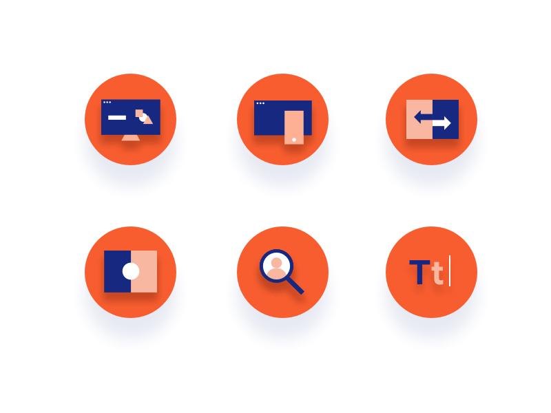 Upfounder | Startup Icons startup illustration branding web symbols icons iconography