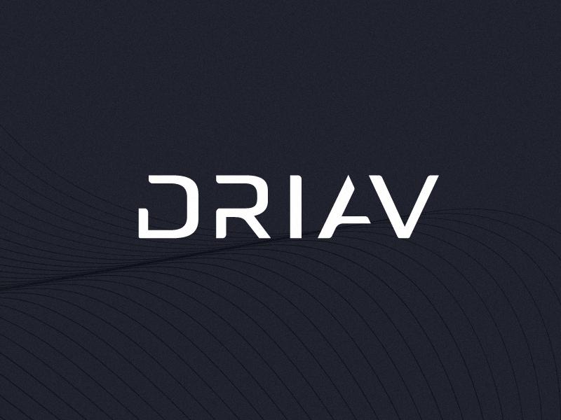 DRIAV | Brand Wordmark tesla automobile autonomous drive logo brandmark icon identity brand