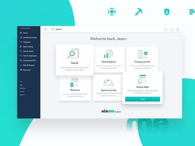 Hixme | Web Admin 2