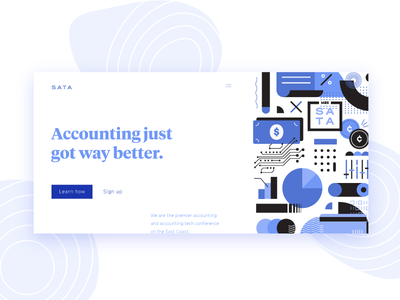 Bookkeeping & Accounting | Collage finance mobile ui web collage