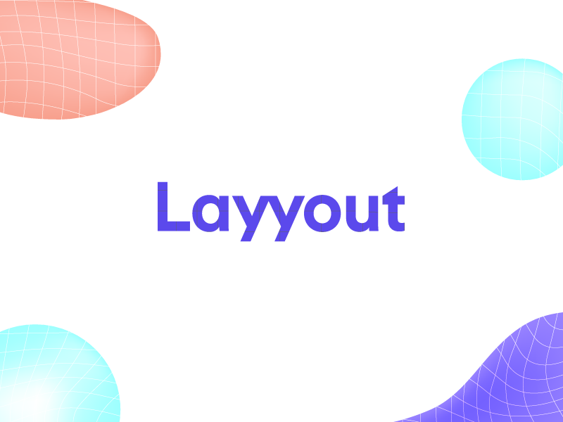 Layyout | Brand Ideation abstract shapes grid mobile ui brand logo